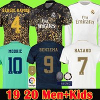 Real Madrid soccer jersey Fourth Benzema 19 20 JOVIC Modric ...