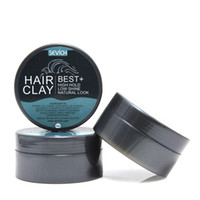 80g Matte Texture Hair Clay Strong High Hold Low Shine Retro...