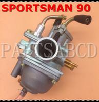 Polaris Sportsman için Karbüratör 90 2004 ATV Manuel Kablo Şok 90cc Carb 2 Stroke