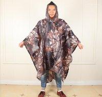 Regenmäntel Outdoor Wandern Bergsteigen Corta Vento Regen Jacke Multifunktions Drei In Einem Camouflage Regenmantel Herren Designer