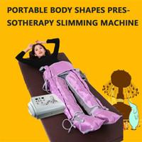 Salão de beleza spa uso pressoterapia máquina de massagem drenagem linfática perder peso slim pressoterapia drenagem linfática terno