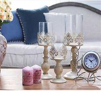 3 Размер Элегантный подсвечник Куб Подставка Свеча Подсвечник Металл Base Craft Votice большие стекла Свечи свадебные Подсвечники