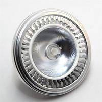 Haute qualité Super Bright LED AR111 12W COB Downlight LED AR111 QR111 G53 lumière ampoule Dimmable lampe LED AC110V / 220V / DC12V