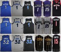 NCAA Vintage 1996 Shaq O'Neal 32 Penny Haraway 1 T-Mac Tracy McGrady Vince Carter 15 Jerseys de baloncesto