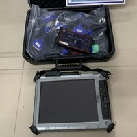 Pro Auto Diagnostic tool Dearborn Protocol Adapter DPA5 Heavy Duty Truck Scanner IX104 Tablet Laptop i7 cpu Software Installed mini SSD