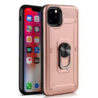 For iphone 11 Pro Max XS XR X 8 Plus TPU PC Phone Case Metal...
