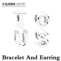 Fahmi Nouveau produit 925 Sterling Silver Simple Fashion Design Girl Cadeau Bijoux Peace Bear Corde réglable Bracelet Couple Bracelet