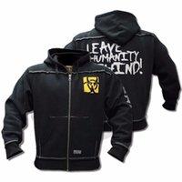 Levar Jacket Slim Fit com capuz de Mutant Inverno aptidão Homens Ginásios camisola Hoodies Musculação com capuz Zipper Casual camisola Men