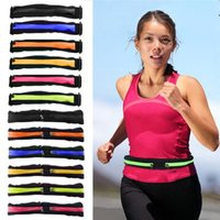New Running Belt Pouch Hiking Pocket Jogging Sport Runner Zi...