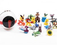 Kids Toy Pet Elf Ball con Pocket Monster Pet FiguresSogno Dream Toys Arredamento Camera da letto PokeBall Giocattoli per bambini