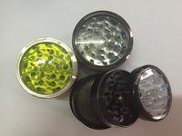 CNC المعدنية حجر حاد طاحونة العشبية التدخين مطاحن للsharpstone التبغ 40MM / 50MM / 55MM / 63MM نافذة واضحة أعلى طاحونة عشب