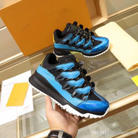2019NewisVuitton 2019LV Line Up Blue Zig Zag Trainers Shoes ...