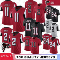 11 Julio Jones Atlanta jerseys Falcon 2 Matt Ryan Ridley 18 jerseys Limited 24 Devonta Freeman 21 Deion Sanders fútbol jerseys