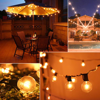 US Stock 18 Foot 25 LED Transparent & Silver Bulbs with Two ...