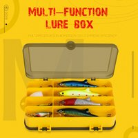 Fishing Lure Box Double Sided Fshing Tackle Boxes Plastic St...