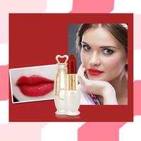 Rouge à lèvres de haute qualité 8 couleurs de maquillage Rouge à lèvres mat Brillant à lèvres hydratant longue durée