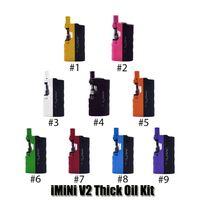 Authentic imini V2 Thick Oil Kit 650mAh Battery Box Mod 510 Thread 0.5ml 1.0ml Imini I1 Tank Cartridge Vaporizer Kits Genuine