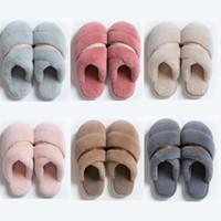 donne a buon mercato non-Brand invernali uomini Slipper flip flop sandali pelliccia coperta, tenere al caldo casa scarpe di gomma Sandali piatti 38-45 Style 33