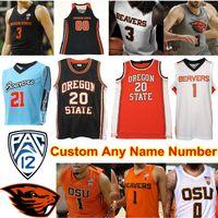 Oregon State Beavers OSU Basketball Jersey NCAA Payto Tres Geklingel Thompson Kelley Reichle HollinsA.C. Grüne Barry Gary Payton II
