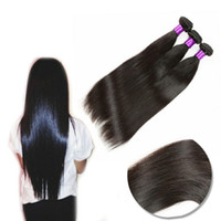 Brazilian mink human hair bundle with closure body wave stra...