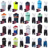 2020 Morvelo Bisiklet Kolsuz Jersey Yelek Bisiklet Giyim Kiti Ile 9D Jel Pad Önlüğü Şort Setleri Yarış Hızlı Kuru Ropa Ciclism C629-34