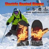 Мужчины женские лыжные перчатки водонепроницаемые флисовые термальные горячие перчатки сноуборд сноуборда перчатка перчатка для сонвета