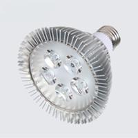 LED PAR 30 38 E27 COB luce del riflettore 5W 9W AC85-265V 130LM alluminio Par38 Par30 lampada della lampadina interna illuminazione diretto dalla Shenzhen in Cina