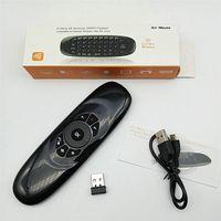 1pcs C120 에어 마우스 2.4G 무선 미니 키보드 플라이 에어 마우스 무선 키보드 노트북 및 셋 탑 TV 상자