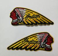 Benutzerdefinierte Biker Indian Motorcycles Patches Eisen auf Kleidung Abzeichen Etiketten Kleidung Abzeichen von Applikationen Weste Jacke Garment Jeans Schuhe Etiketten