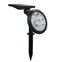 Umlight1688 Waterproof 9 LED Solar Light Garden Lawn Decorat...