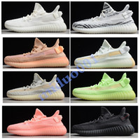 Designer Shoes Hyperspace Clay Static Scarpe da corsa da uomo Kanye West Cream Bianco Nero Red Bred Scarpe da ginnastica donna Fashion Sport 36-47