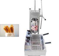 آلة كروس 5L التجارية مع 12L المقلاة الكهربائية صانع كروس الأسبانية شعبية معدات وجبة خفيفة آلة صنع كرو