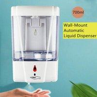 الخيالة 700ML الصابون التلقائي الصيدلي Touchless الاستشعار الذكية الصابون السائل موزع حمام الجدار الصيدلي الصابون ZZA2303 6PCS