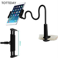 Flessibile Desktop Phone Tablet Holder stand per iPad Mini di Samsung su Lazy Bed Tablet PC Stand a ventosa per iPhone Xs Max Big Phone