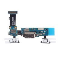 Samsung Galaxy S5 G900F G900A G900V G900T G900P G900M G900H Mikro USB Şarj Liman Dock'un için Flex Kablo Şarj 10 Ad