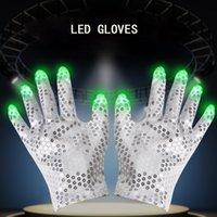 LED Glow Light Up Finger Lighting Dance Party Decoration Glo...