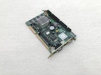 Оригинальный совет IPC ECB-641 REV: A1 ECB 641 ISA слот Промышленная материнская плата половинного размера процессора карты PICMG10 Бортовое CPU RAM LVDS