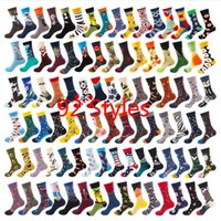 55 styles Men and women Happy Socks Novelty Colorful Dachshu...