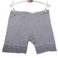Dikişsiz Kadın Güvenlik Kısa Pantolon Dantel Kadın İç Çamaşırı MID Bel Külot Anti Işık Güvenlik Şort Kadın Külot