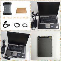 Conjunto completo Ferramenta de diagnóstico MB STAR SD C6 X-Entry Doip com D630 Laptop 360GB SSD Diagnóstico Multiplexador Mais Recente Soft-Ware Carro
