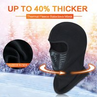 1pcs Unisex Windprof Face Mask Helmet Hat Beanie Fleece Ski ...