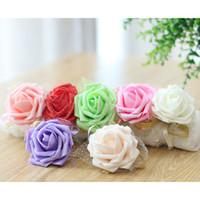 Panna młoda Druhna Nadgarstek Kwiat Corsage Druhna Siostra Ręka Kwiat Wedding Ball Sztuczny Jedwab Koreański Nadgarstek Kwiat