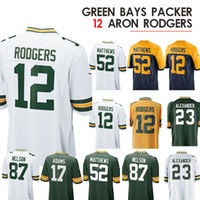 the best attitude 28e62 418f0 Wholesale Aaron Rodgers Jerseys for Resale - Group Buy Cheap ...