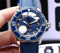 New FIFTY FATHOMS Mens Watches Swiss Automatic Movement Sapphire Crystal Polishing wire-drawing process 316L Steel Case Super luminous