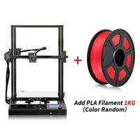 طابعة ثلاثية الأبعاد بالإضافة إلى حجم 310 * 310 * 400 ملليمتر طباعة كبيرة تجميع 3D طابعة الطباعة مع PLA / ABS / خيوط الخشب 1.75mm ل هدية لعبة الإبداعية.