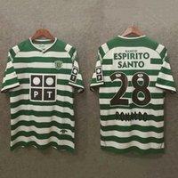 camisas de futebol retro Sporting CP Lisboa C.Ronaldo 2001 02 03 04 M.Niculae TELLO P.BARBOSA antigos camisas de futebol clássico