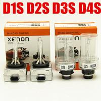 اختبأ 50 زوجا D1S استبدال HID D1S زينون لمبات 12V 35W D2S D3S مصابيح 4300K 5000K 6000K 8000K D1S المصابيح الأمامية
