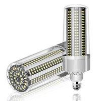 80W-200W القوى الكبرى LED مصباح للإضاءة في الهواء الطلق ملعب مستودع 110V 220V E39 E40 الذكية IC السوبر مشرق LED E27 لمبة الذرة LED006
