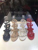 حار بيع -شمال النسائية الشعبية 6.5CM برشام قماشية أحذية صنادل جلدية جلد الغنم النعال الوجه بالتخبط 34-42