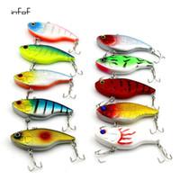 Рыболовные приманки Большие жесткие приманки Minnow VIB Приманка с тройным крючком Life-Like Swimbait Рыболовные приманки 3D Fishing Eyes Popper Crankbait Vibe Sinki